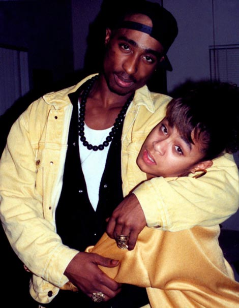 2Pac et Jada Pinkett