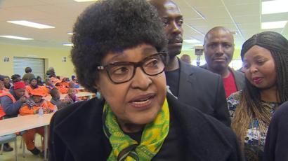 Winnie Madikizela-Mandela : «L'ANC a foutu l'Afrique du Sud en l'air»