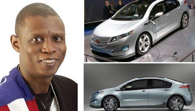 Jelani Aliyu, le Nigérian qui a conçu Chevrolet Volt, la version électrique de la marque mythique de General Motors