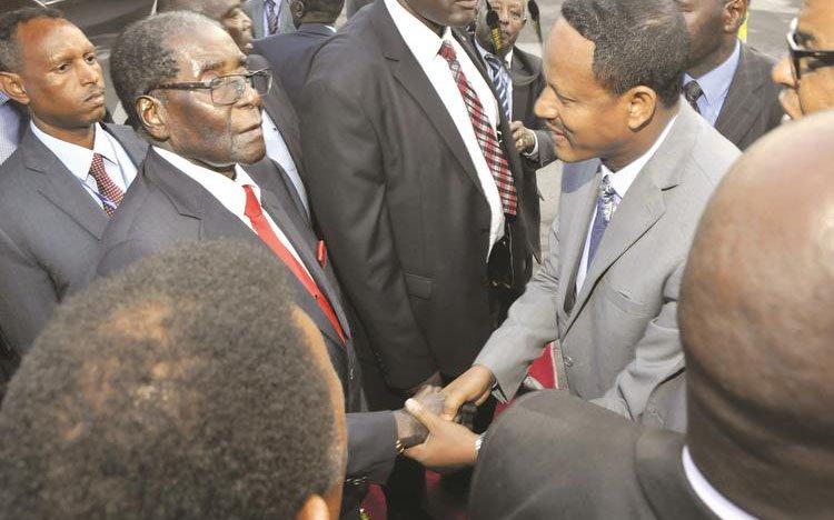 Mugabe a fait don d'un million