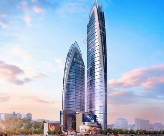 plus grand gratte-ciel d'Afrique