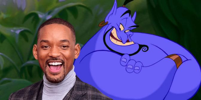 Will Smith jouera le génie dans le prochain film Aladdin