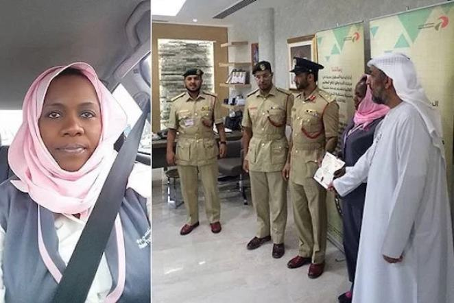 La Kényane Peris Wangechi consacrée meilleur chauffeur de taxi de Dubaï