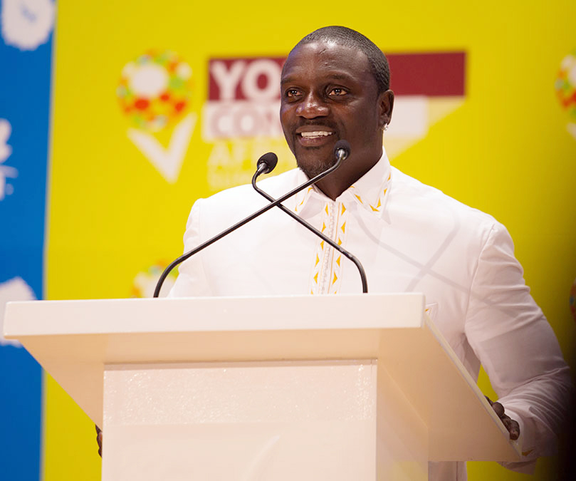 Akon discours afrique