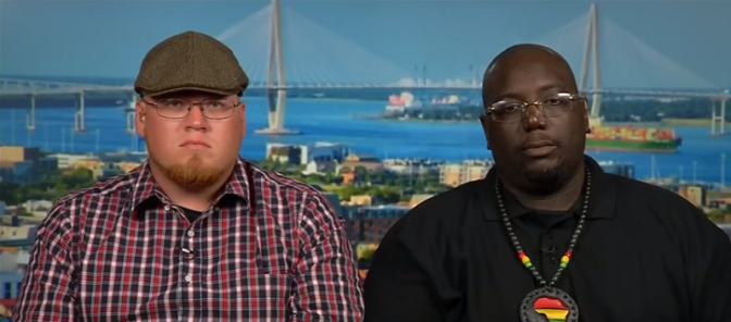 Aux Etats-Unis, des nationalistes noirs et blancs s'unissent pour empêcher les violences à Charleston