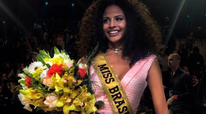 Miss Brésil est une femme noire pour la deuxième fois consécutive et pour la troisième fois de l'histoire