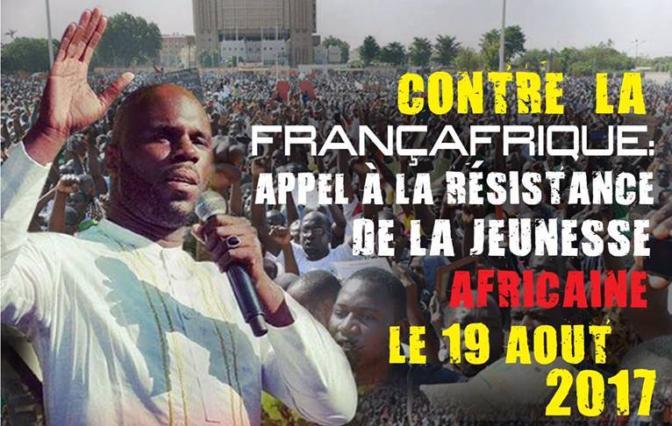 Après le FCFA, Urgences Panafricanistes appelle à la mobilisation contre la Françafrique