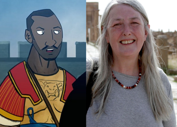 Une universitaire britannique honnie pour avoir représenté un soldat romain noir dans l'Angleterre ancienne