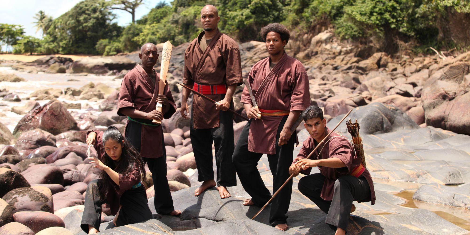 À la découverte de l'art martial Djokanavec Djoko Didier