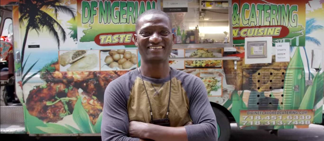La cuisine d'un Food Truck africain élue la meilleure de New York