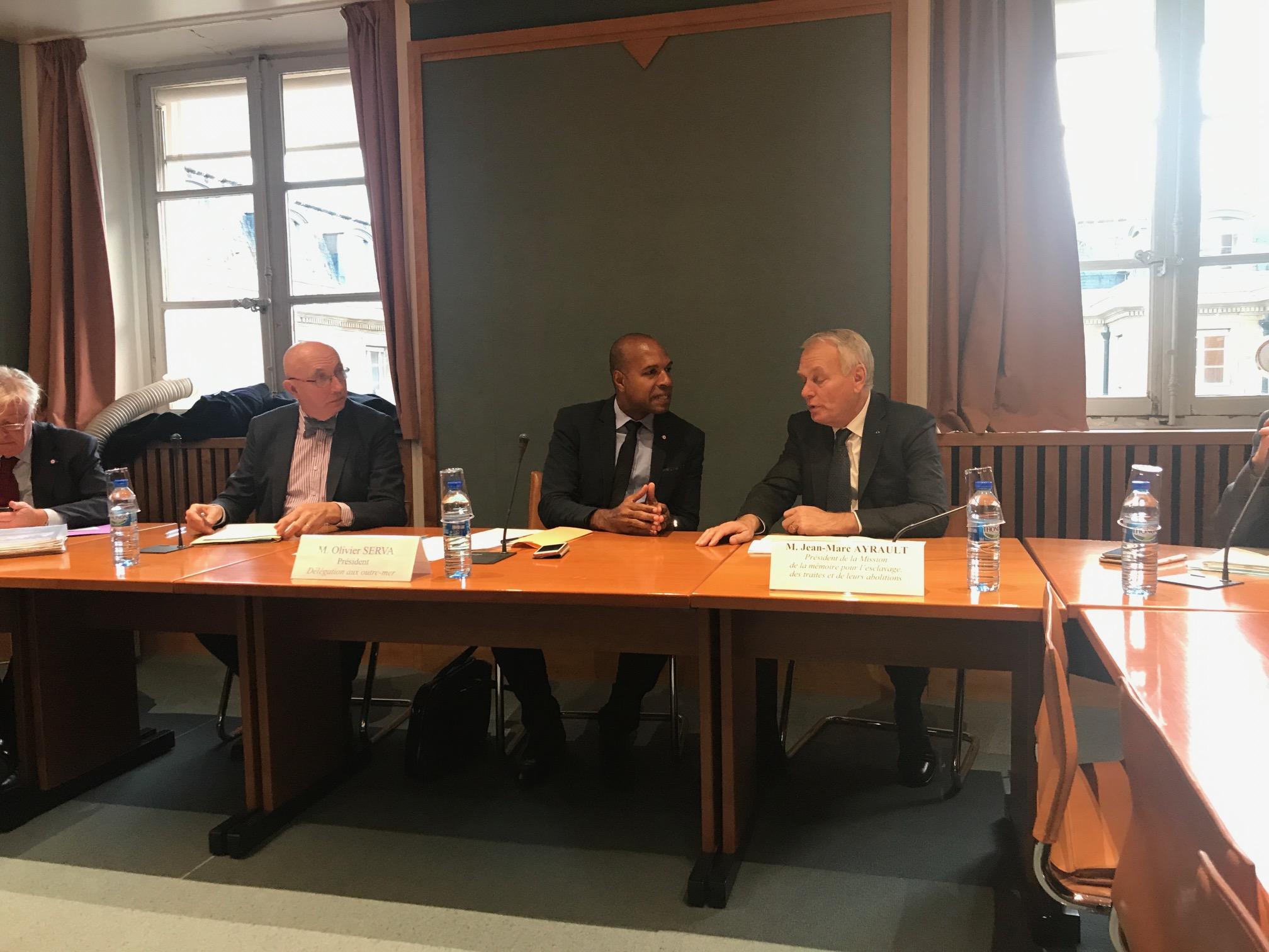 Fondation pour la mémoire de l'esclavage: les parlementaires en action