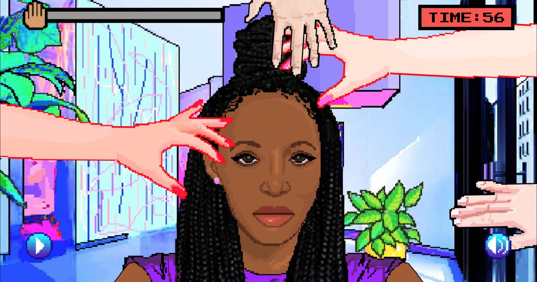 Hair Nah, un jeu vidéo qui dit «ne touche pas à mes cheveux afro»