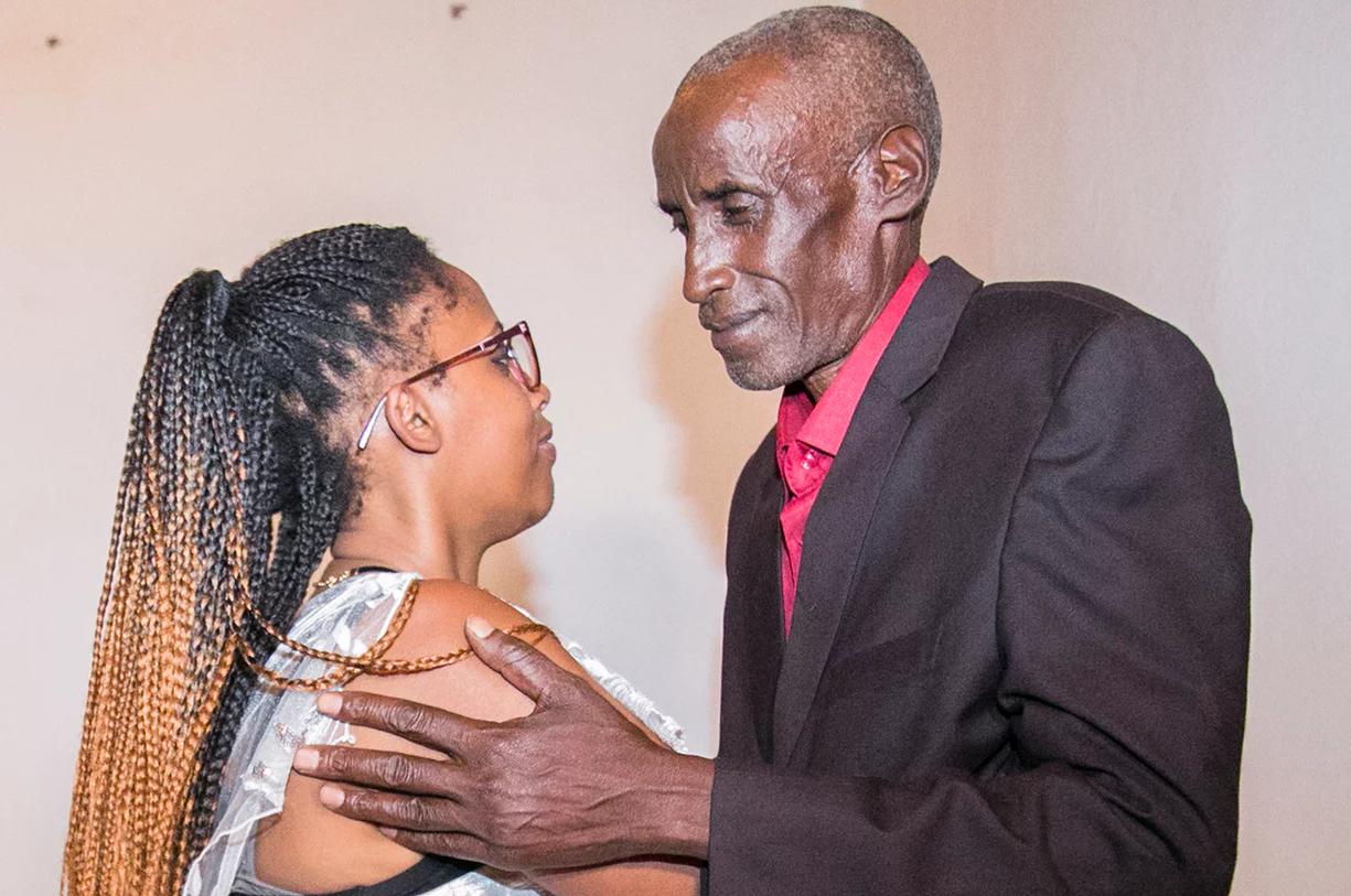 Séparés pendant le génocide tutsi, un père et sa fille se retrouvent 23 ans après