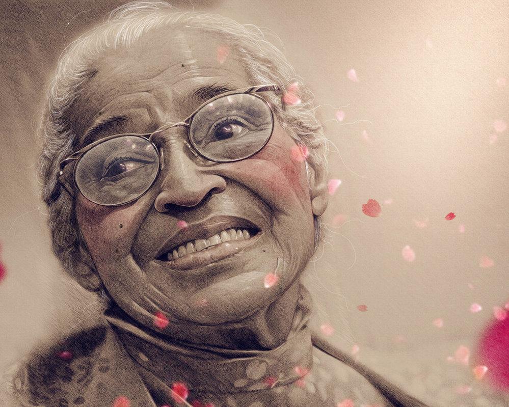 5 magnifiques oeuvres d'art représentant Rosa Parks