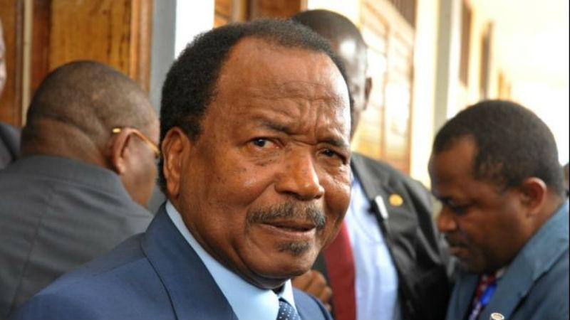 Paul Biya met en garde la «bande de terroristes» anglophone
