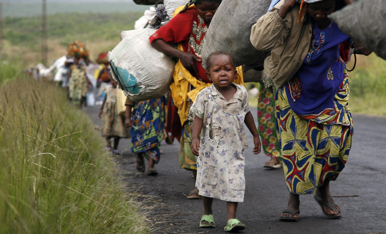 RDC : des millions de personnes forcées de fuir pour rester en vie