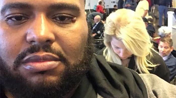 Un homme remet à sa place une raciste à l'aéroport