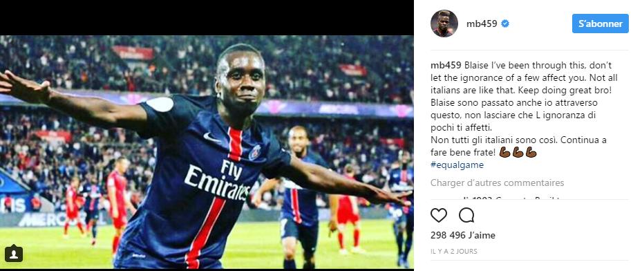 Mario Ballotelli sur Twitter