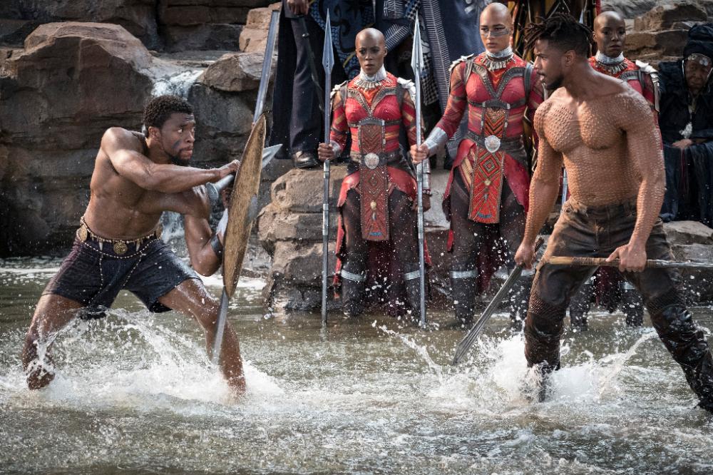 Les armes et les Arts martiaux dans Black Panther