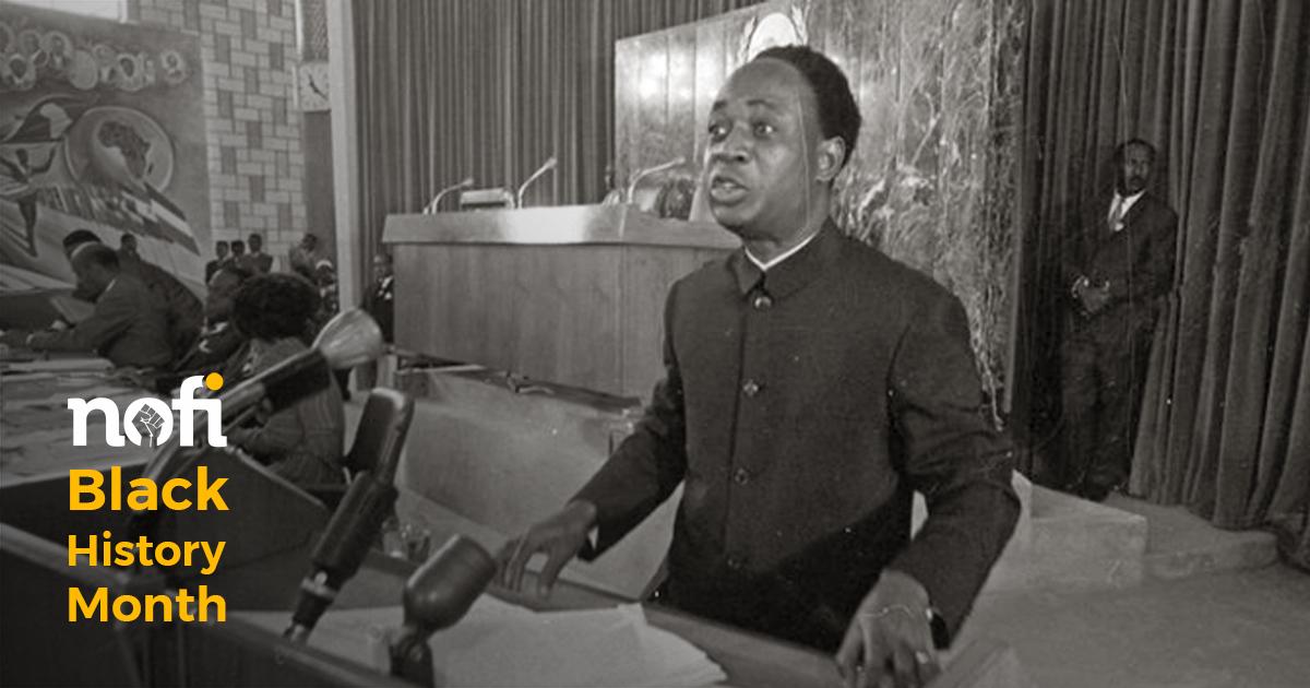 Kwame Nkrumah : «Nous devons tous tirer une leçon de l'Europe, par contraste.»