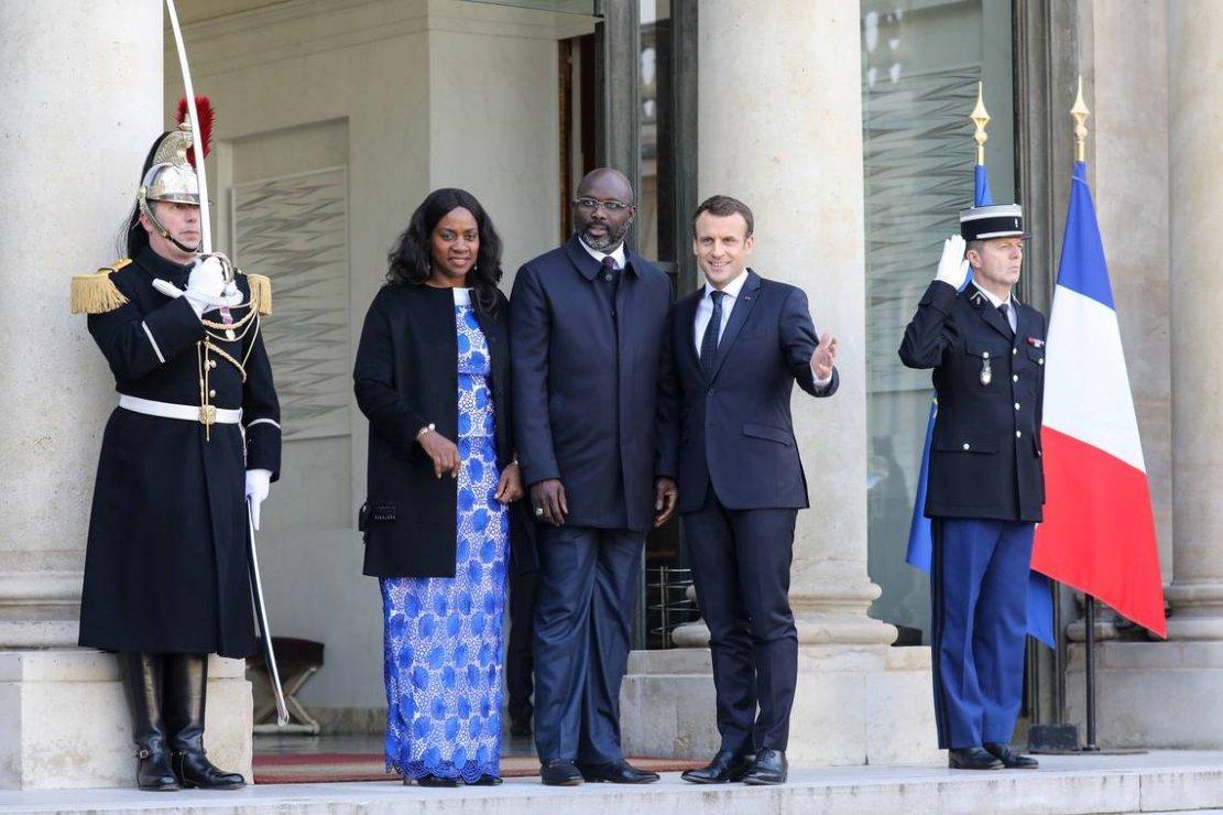 Des invités de prestige reçus à l'Elysée pour le sport en Afrique