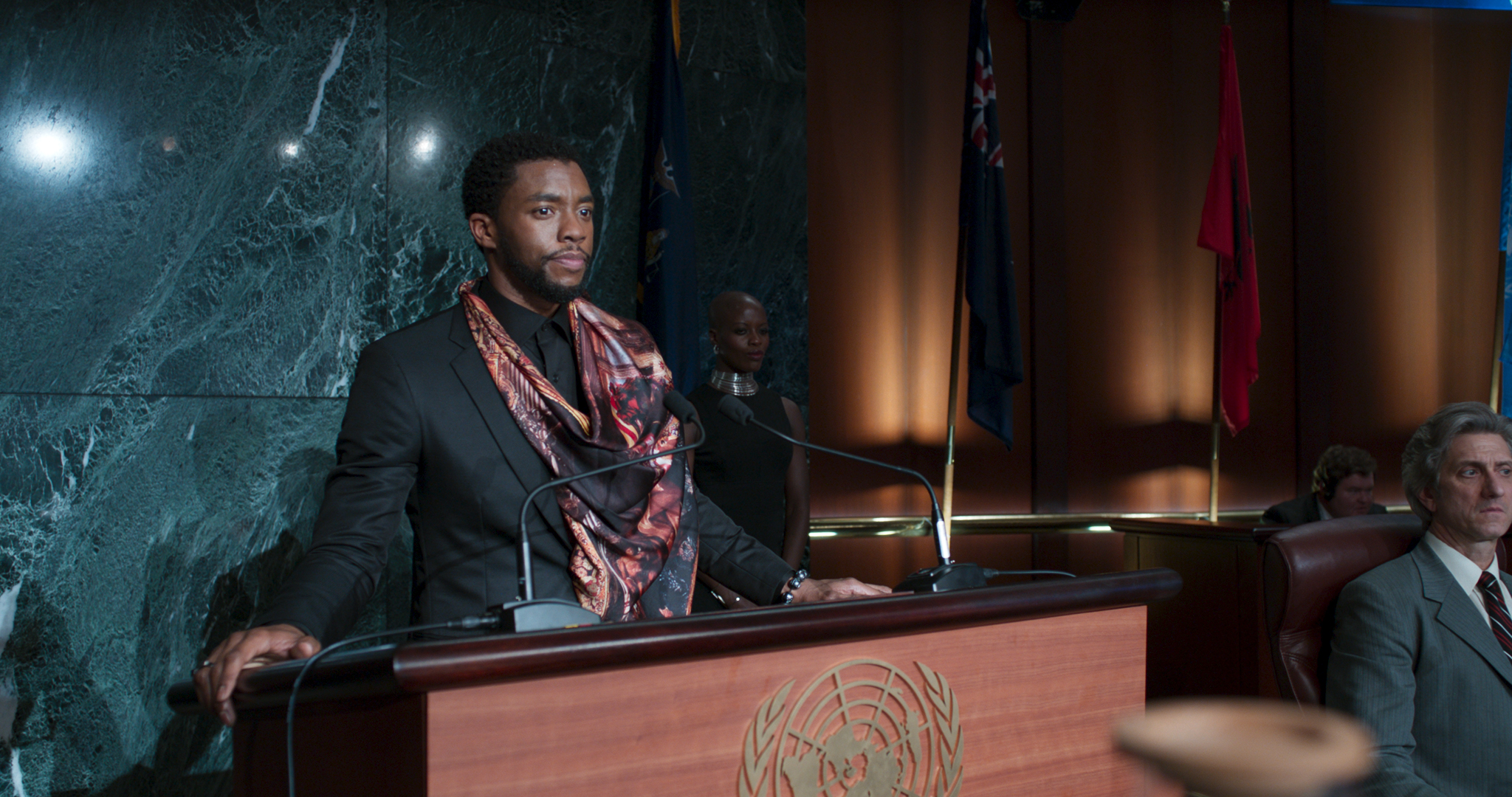 Les noms et les symboles coutumiers dans Black Panther