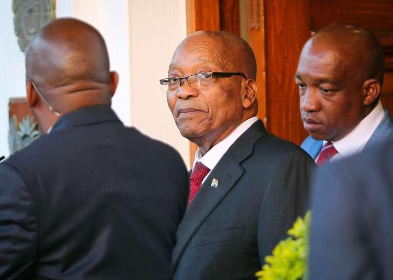 Jacob Zuma, un mandat présidentiel controversé