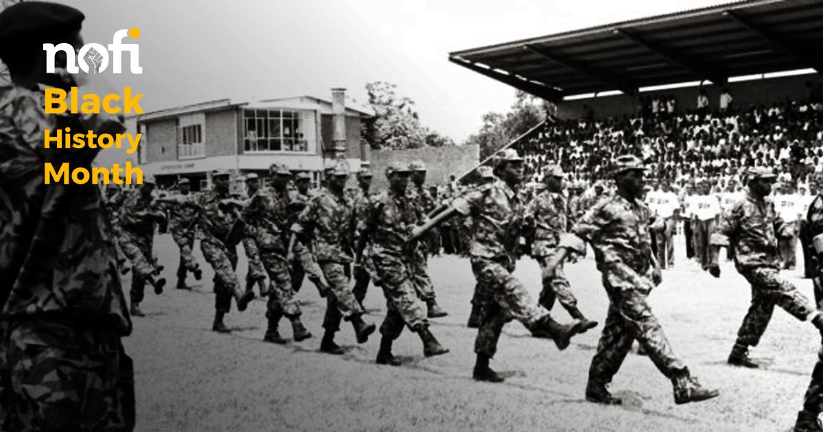 «Umkhonto we Sizwe» ou les combattants de la liberté d'Afrique du Sud