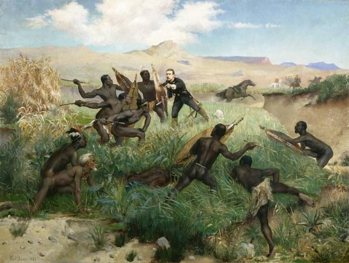 Le prince impérial Napoléon IV tué par les guerriers Zulu