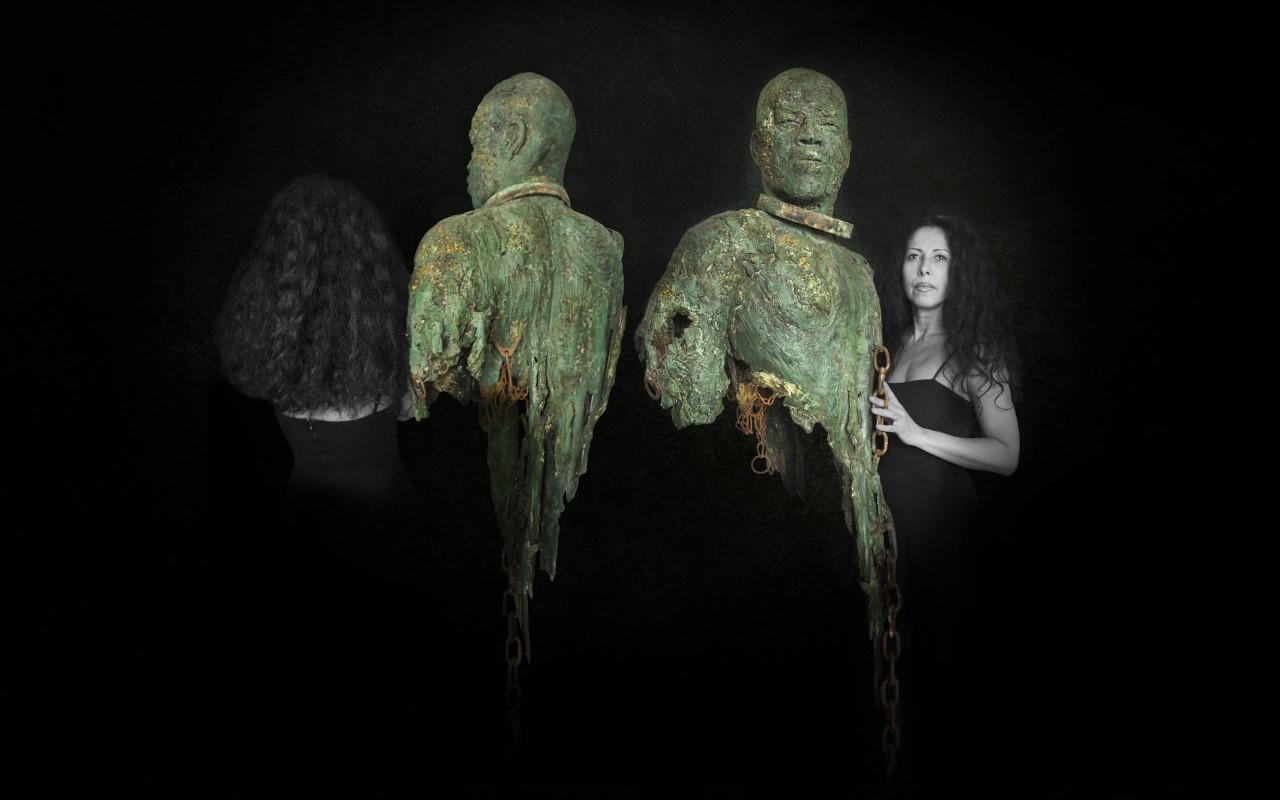 Sandrine Plante-Rougeol, sculpteur engagée sur le thème de l'esclavage