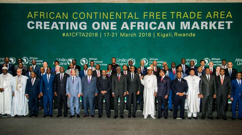 Les chefs d'Etats africains signent un accord de libre-échange continental