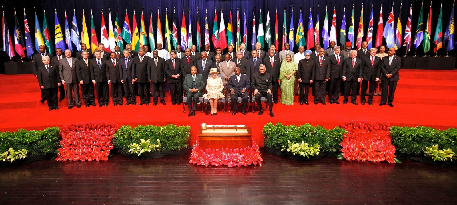 L'Afrique et les Caraïbes anglophones dans le Commonwealth