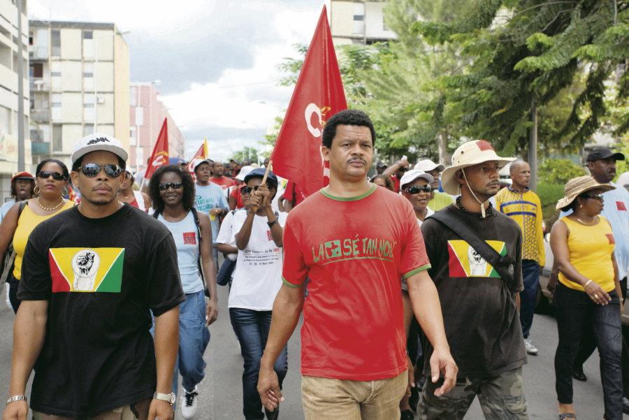 Élie Domota, le leader syndicaliste en procès