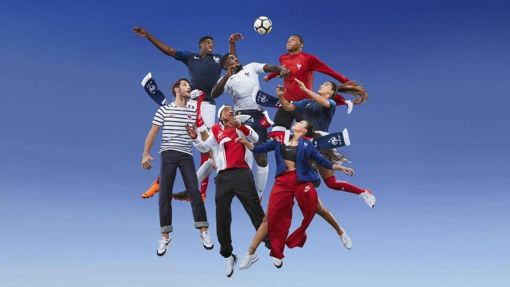 CDM: Le maillot de l'équipe de France de football enfin dévoilé par Nike