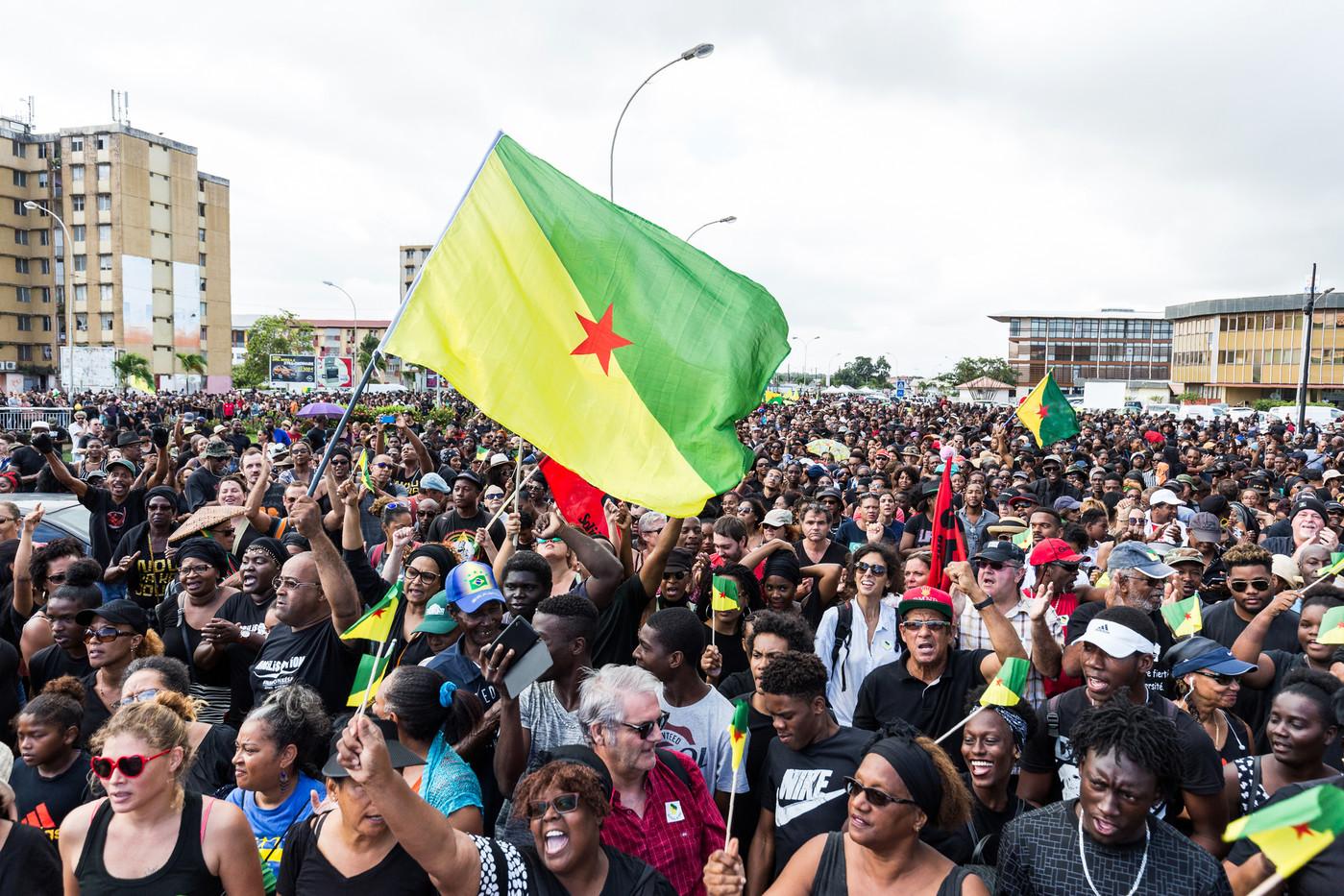 Le bilan mitigé 1 an après la mobilisation massive des Guyanais