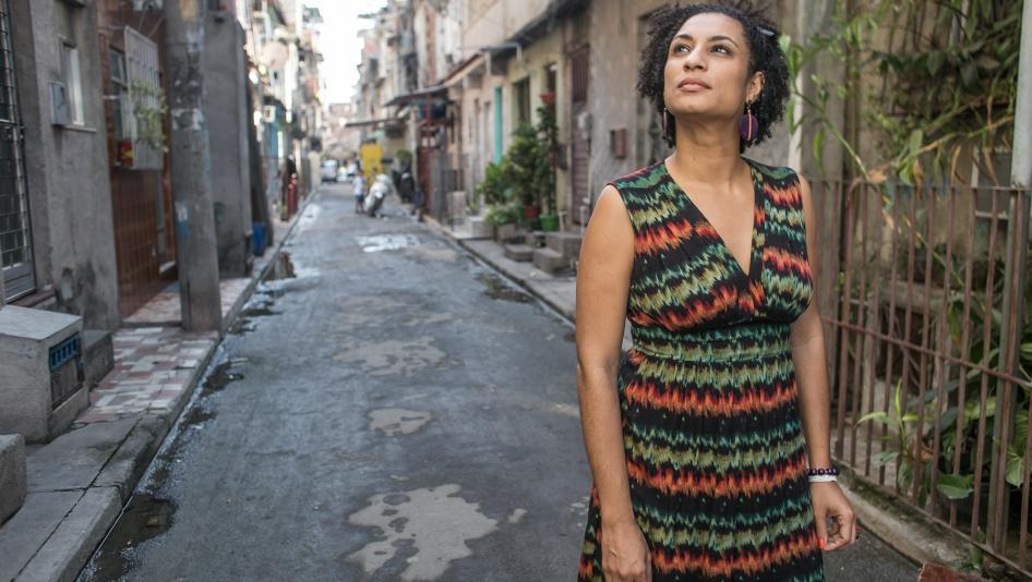 Marielle Franco, la militante brésilienne assassinée à Rio