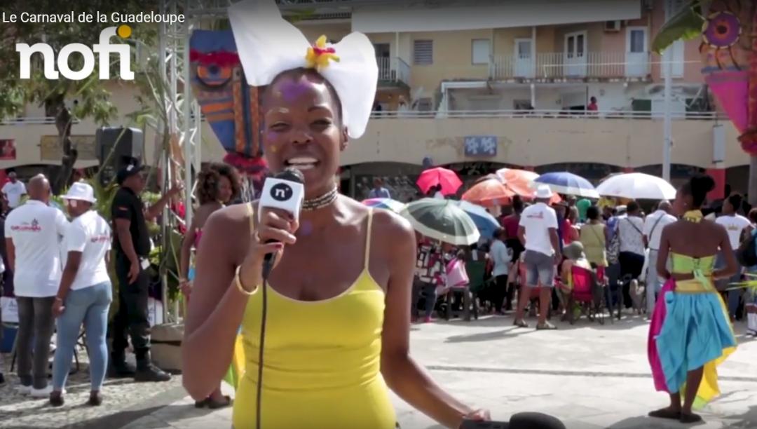 Le carnaval de la Guadeloupe 2018 avec Nancy Fleurival !