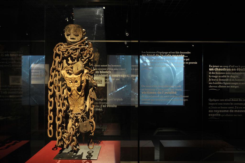 Visite guidée du musée de l'esclavage de Bordeaux