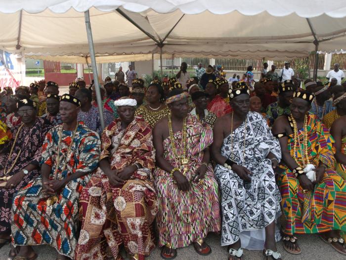 Les chefs coutumiers Akan Ivoiriens prêts à accueillir leurs cousins, les Boni de Guyane