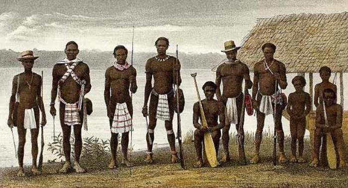 Bokilifu Boni, chef de guérilla des Nègres Marrons du Suriname