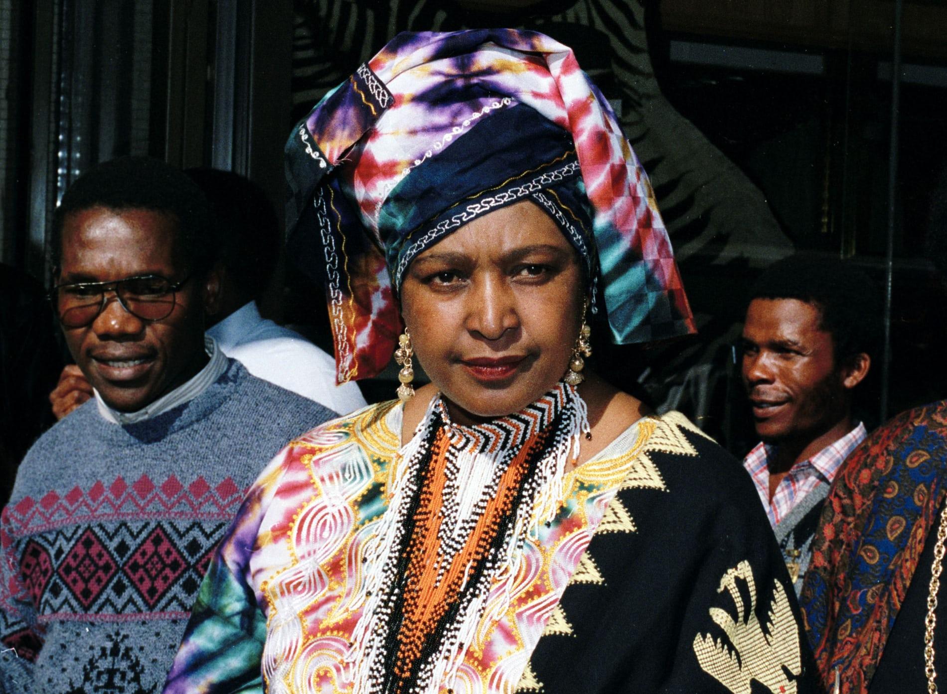 Winnie Mandela: sa vie et son combat en images