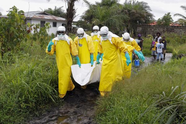 RDC : 31 cas confirmés d'Ebola ; 9 décès