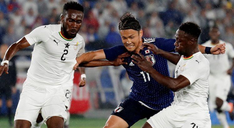 Les Black Stars du Ghana s'imposent face au Japon (2-0)