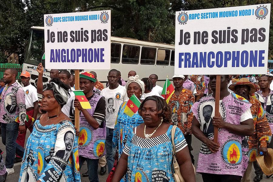La crise anglophone du Cameroun mène le pays au bord de la guerre civile