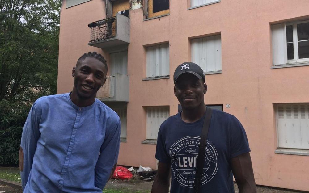 Dei-Grant Bidounga et Eniël Caroly, héros d'un incendie, ont été décorés