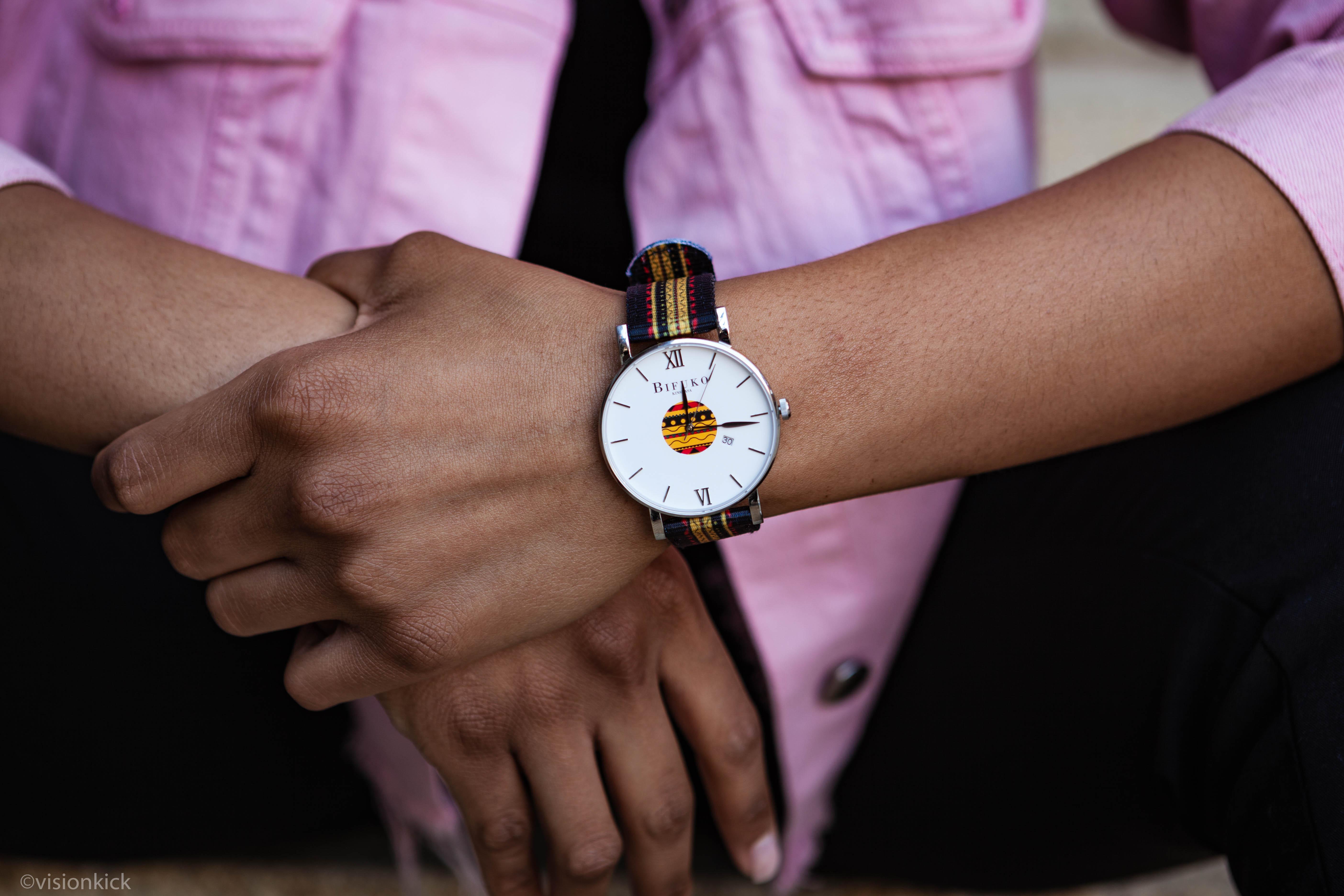 Bifuko, la marque d'horlogerie d'inspiration bantoue