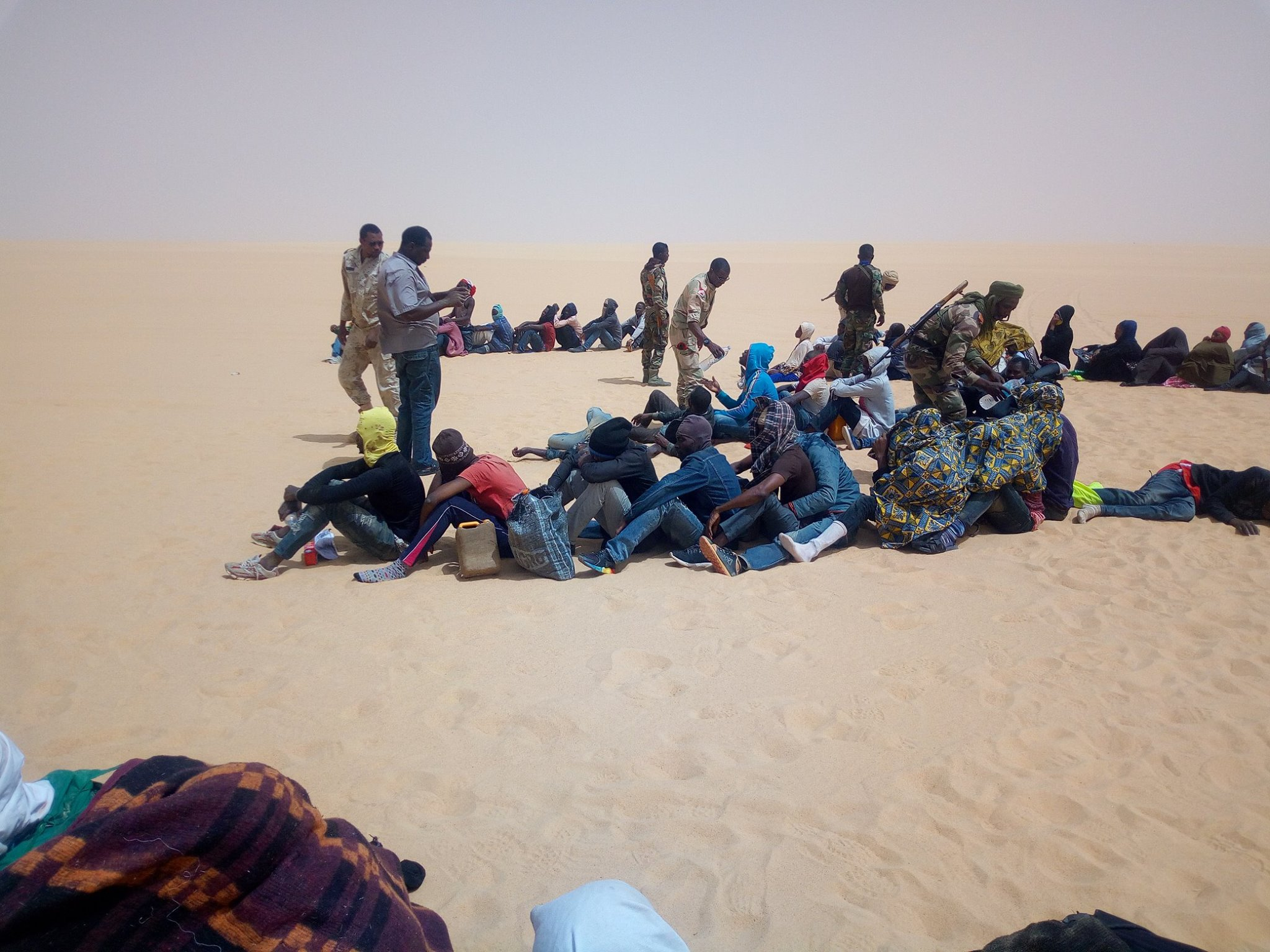 Des migrants subsahariens affirment avoir été vendus comme esclaves en Algérie