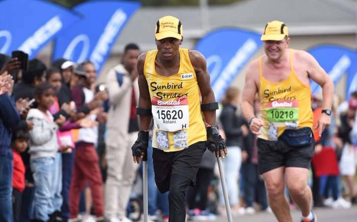 Comrades Marathon: Xolani Luvuno, amputé et coureur d'ultra-marathon