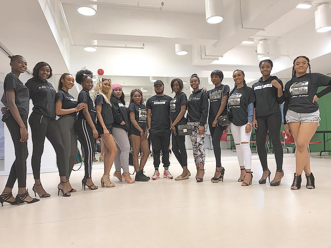 Les candidates du concours «Miss Afrique Canada 2018»