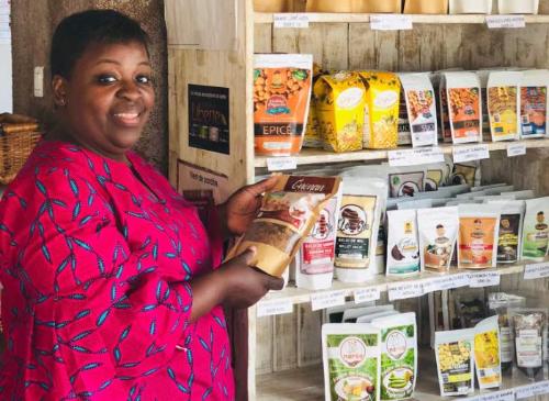 Christelle Amoussou et l'industrie du « made in Bénin »